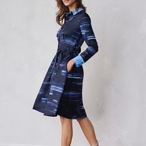 Banana Republic | Brushstroke Shirt Dress
